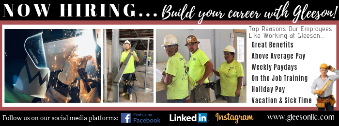 Career Opportunities | Gleeson Constructors & Engineers